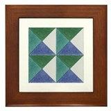 Portuguese Tiles Designs Framed Tile