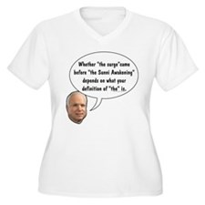 "McCain on ""The"" Surge T-Shirt"