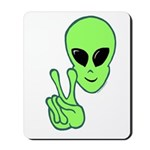 Peace Alien Mousepad