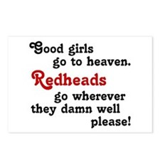 Goodgirls & Redheads Postcards (Package of 8)