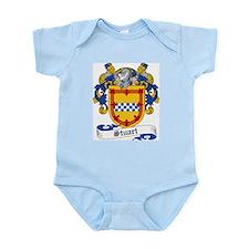 Stuart Family Crest Infant Creeper