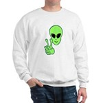 Peace Alien Sweatshirt