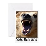 Yeh, Bite Me Greeting Cards (Pk of 10)