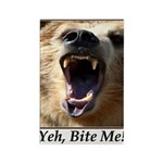 Yeh, Bite Me Rectangle Magnet (10 pack)