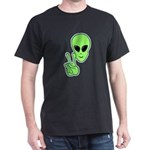 Peace Alien Dark T-Shirt