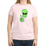 Peace Alien Women's Light T-Shirt