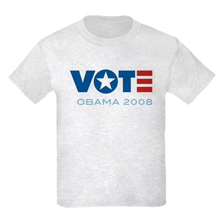 VOTE Obama 2008 Kids Light T-Shirt
