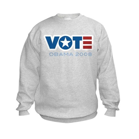 VOTE Obama 2008 Kids Sweatshirt