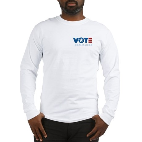 VOTE Obama 2008 Long Sleeve T-Shirt