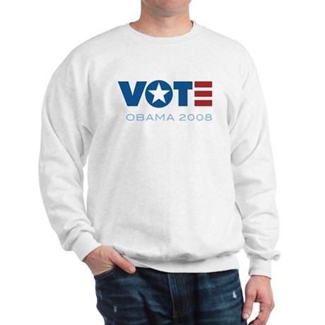 VOTE Obama 2008 Sweatshirt