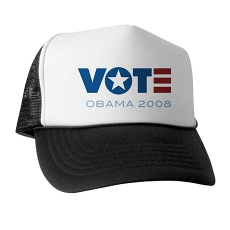 VOTE Obama 2008 Trucker Hat