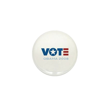 VOTE Obama 2008 Mini Button