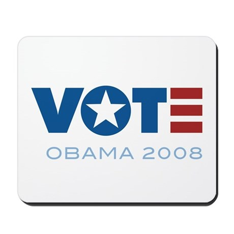 VOTE Obama 2008 Mousepad
