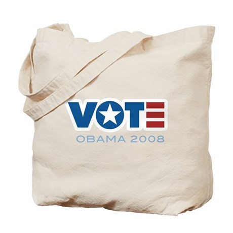 VOTE Obama 2008 Tote Bag