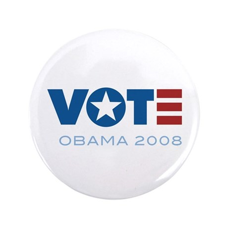 "VOTE Obama 2008 3.5"" Button (100 pack)"
