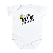 beer me Infant Bodysuit