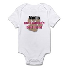 Mudis woman's best friend Infant Bodysuit
