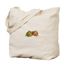Fall Acorns Tote Bag