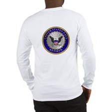 US Navy Retired Long Sleeve T-Shirt