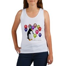 Party Animal Penguin Women's Tank Top