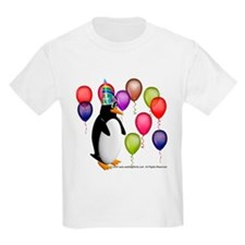 Party Animal Penguin Kids T-Shirt