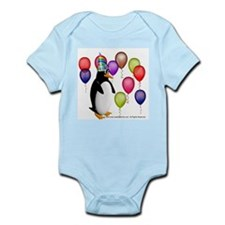 Party Animal Penguin Infant Creeper