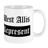 West Allis - Represent Mug