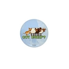 got sheep? Mini Button (100 pack)