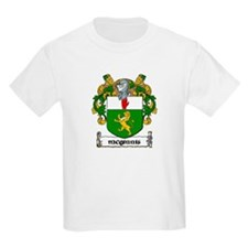 McGinnis Coat of Arms Kids T-Shirt