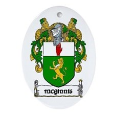 McGinnis Coat of Arms Keepsake Ornament