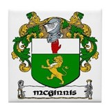McGinnis Coat of Arms Ceramic Tile