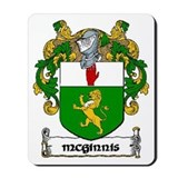 McGinnis Coat of Arms Mousepad