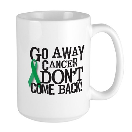 Green Ribbon Large Mug