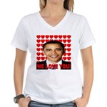We Love You! Women's V-Neck T-Shirt