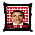 We Love You! Throw Pillow