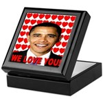 We Love You! Keepsake Box