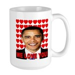 We Love You! Large Mug