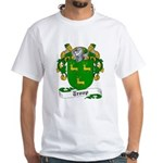 Troup Family Crest White T-Shirt