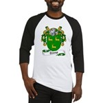Troup Family Crest Baseball Jersey