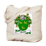 Troup Family Crest Tote Bag