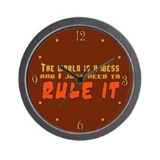 Rule World Wall Clock