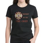 Fire Chief Property Women's Dark T-Shirt