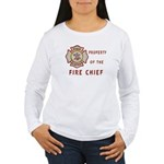 Fire Chief Property Women's Long Sleeve T-Shirt
