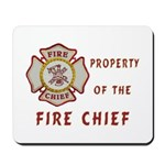 Fire Chief Property Mousepad