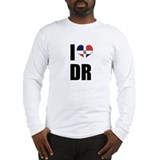I heart DR Long Sleeve T-Shirt