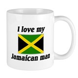 I love my Jamaican Man  Tasse