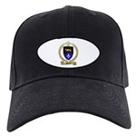 DEVEAU Family Crest Black Cap