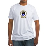 DEVEAU Family Crest Fitted T-Shirt