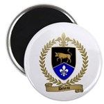DEVEAU Family Crest Magnet