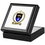 DEVEAU Family Crest Keepsake Box